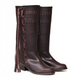 ROCIERO BOOT CHAPS AND HEEL